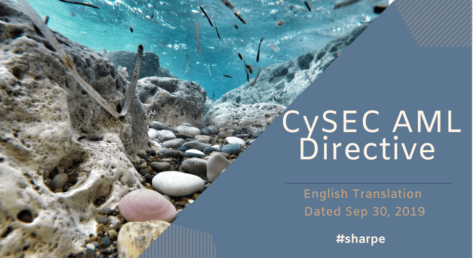 CySEC Directive translated to English