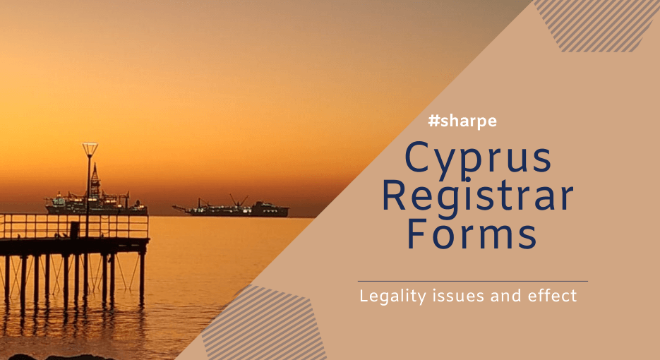 Cyprus Registrar Form Legality issues and effect - View of Molos during sunrise - Cyprus